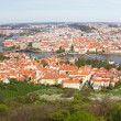 Detailed panorama of Prague, Czech Republic - Stock Photo