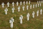 古い軍事墓地 — ストック写真