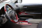 Interior of a luxury car — Stock Photo