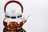 Teapot with cups — Foto de Stock
