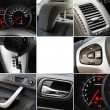 Collage of car interior details — Stock Photo #8881654