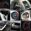 Collage of car interior details — Stock Photo #8881661