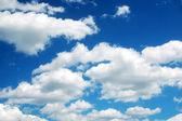 Summer clouds — Stock Photo
