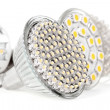 Newest LED light bulb — Stock Photo