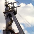 Coal mine headgear tower - Photo