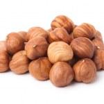Heap of hazelnuts — Stock Photo #8515521