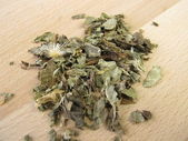 Mary thistle, Cardui mariae herba — Stock Photo