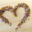 Heart of flower sugar - 
