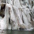 Waterfall in winter — Stock Photo #8976694