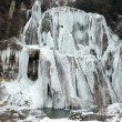 Waterfall in winter — Stock Photo #8985837