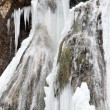 Waterfall in winter — Stock Photo #8986921