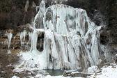 Cascata in inverno — Foto Stock