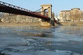 Masaryk bridge — Stock Photo