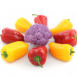 Bell pepper and cauliflower — Stock Photo #9090598