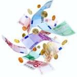 voler l'argent de l'euro — Photo
