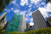 Bryant Park Skyscrapers — Stock Photo