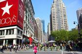 Herald Square in New York City — Stock Photo