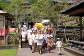 Balinese Funeral Ceremony — Stock Photo