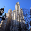 Stock Photo: Lower Manhattan skyscrapers