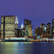 Royalty-Free Stock Photo: Manhattan midtown panorama