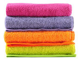 Towel. Series.... — Stock Photo