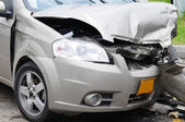 Damaged car. — Stock Photo