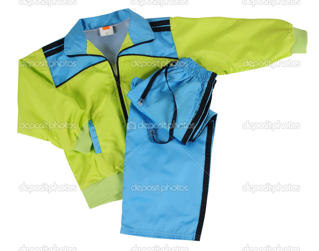 Water proof jugging clothing.  Stock Photo #9116695