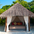 Royalty-Free Stock Photo: Beach Cabana on a maldivian island
