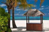 Beachbar on a tropical island — Stock Photo