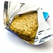 Stock Photo: Dried Egg Ramen Noodles in Foil