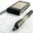 Stock Photo: Handwritten Letter With Pen and Cellphone