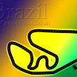 Brazil Carlos Pace F1 Formula 1 Racing Circuit — Stock Photo
