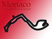 Monaco F1 Formula 1 Racing Circuit — Stock Photo