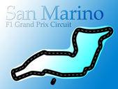 Enzo e Dino Ferrari San Marino F1 Race Circuit — Stock Photo