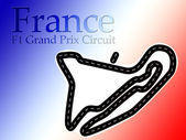 Magny Cours France F1 Formula 1 Racing Circuit — Stock Photo