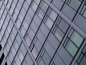 Modern Glass Building Side — Stock Photo