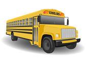Traditional American School Bus — Stock Photo