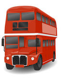 Red London Routemaster Bus — Stock Photo