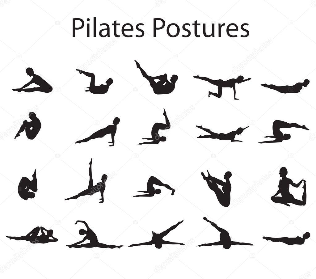 http://static8.depositphotos.com/1006829/990/i/950/depositphotos_9903243-20-Pilates-or-Yoga-Postures-Positions-Illustration.jpg