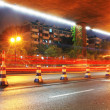 Urban night traffics view — Stock Photo #10723391