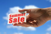 Summer sale — Stock Photo