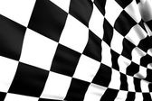 Checkered flag — Stock fotografie