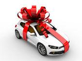 Present car — Stockfoto