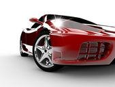 Red car — Stockfoto