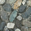 Nautral stone pavement - Stock Photo