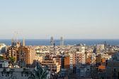 Barcelona panoramic view, Spain — Stock Photo
