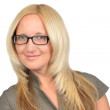 Business woman in glasses — Stock Photo #8289355