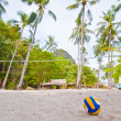 Volley Ball on Beach — Stock Photo