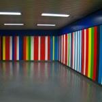 Metro tunnel — Stock Photo