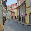 Stock Photo: Old street in Prague